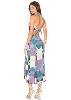 Mara Hoffman Tie Back Cut Out Dress