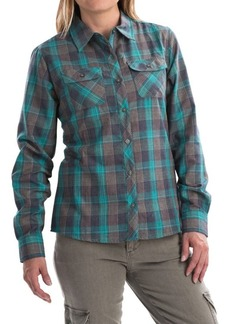Marmot Bridget Twill Flannel Shirt - UPF 50+, Long Sleeve (For Women)