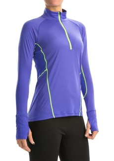 Marmot Interval Zip Neck Shirt - UPF 30+, Long Sleeve (For Women)