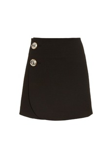 Marni High-waisted wool mini skirt