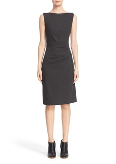 Max Mara 'Aligi' Sleeveless Jersey Sheath Dress
