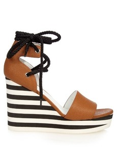 Max Mara Austin wedge sandals