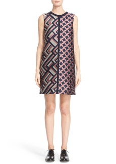 Max Mara 'Dax' Jacquard Shift Dress