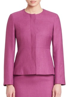 Max Mara Reus Collarless Jacket