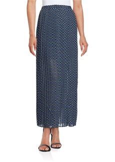 MICHAEL MICHAEL KORS Alston Dotted Maxi Skirt