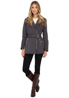 MICHAEL Michael Kors Asymmetrical Zip Soft Shell