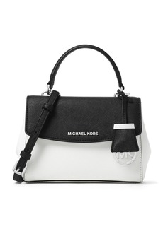 MICHAEL MICHAEL KORS Ava X-Small Saffiano Leather Crossbody Bag