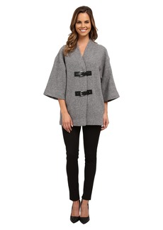 MICHAEL Michael Kors Buckle Sweater Coat