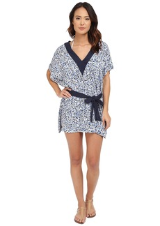 MICHAEL Michael Kors Chilitington V-Neck Tunic Cover-Up