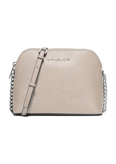 MICHAEL MICHAEL KORS Cindy Leather Dome Crossbody