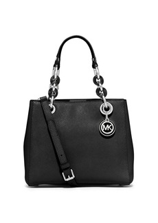 MICHAEL MICHAEL KORS Cynthia Small Leather Satchel
