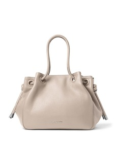 MICHAEL MICHAEL KORS Dalia Large Leather Shoulder Tote