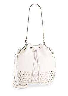 MICHAEL MICHAEL KORS Dottie Studded Leather Bucket Bag