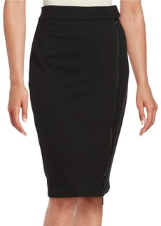 MICHAEL MICHAEL KORS Double Zip Pencil Skirt