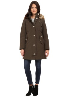 MICHAEL Michael Kors Down Parka w/ Faux Fur Trim