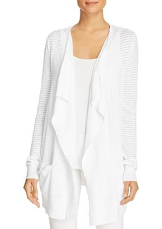MICHAEL Michael Kors Draped Open Knit Cardigan