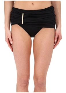 MICHAEL Michael Kors Draped Solids Long Bar Skirted Bottom