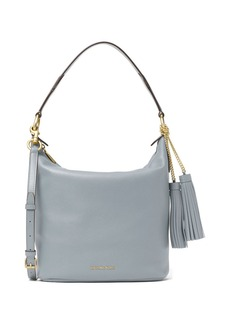 MICHAEL MICHAEL KORS Elana Venus Leather Large Convertible Shoulder Bag
