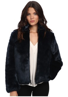 MICHAEL Michael Kors Faux Fur Short Zip