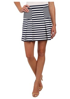 MICHAEL Michael Kors Flare Stripe Mini Skirt
