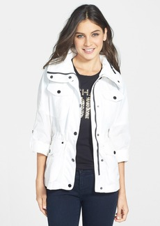MICHAEL Michael Kors Four Pocket Jacket with Stowaway Hood (Regular & Petite)