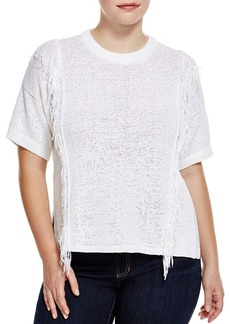 MICHAEL Michael Kors Fringed Sweater