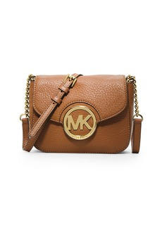 MICHAEL MICHAEL KORS Fulton Leather Small Crossbody Bag