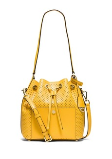 MICHAEL MICHAEL KORS Greenwich Leather Medium Bucket Bag