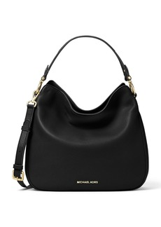 MICHAEL MICHAEL KORS Heidi Medium Soft Venus Convertible Leather Hobo Bag