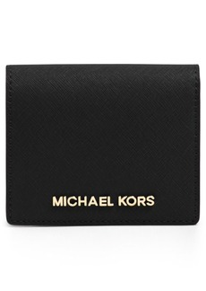 MICHAEL Michael Kors 'Jet Set' Saffiano Leather Wallet