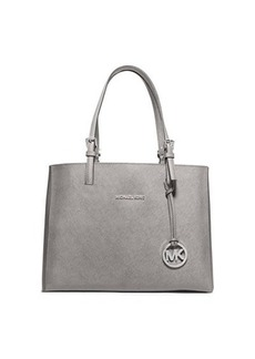 MICHAEL Michael Kors Jet Set Travel Medium Leather Multifunction Tote Bag