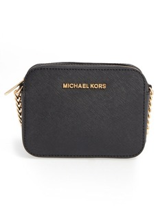 MICHAEL Michael Kors 'Jetset Travel' Saffiano Leather Crossbody Bag