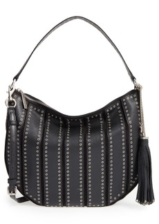 MICHAEL Michael Kors 'Large Brooklyn - Grommet' Convertible Leather Hobo