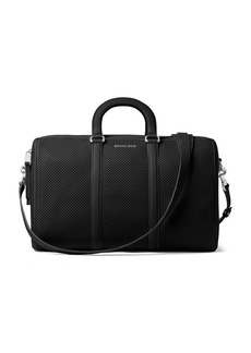 MICHAEL MICHAEL KORS Libby Large Perforated Leather Gym Bag