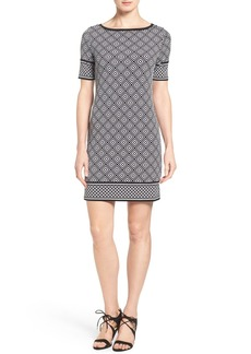 MICHAEL Michael Kors 'Loflin' Print Shift Dress (Regular & Petite)