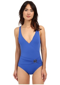 MICHAEL Michael Kors Logo Ring Surplus Maillot One-Piece