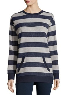 MICHAEL Michael Kors Long-Sleeve Striped Pullover Tunic