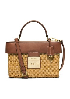 MICHAEL MICHAEL KORS Medium Gabriella Straw Satchel