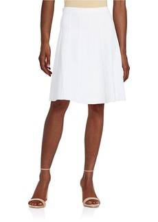 MICHAEL MICHAEL KORS Midcalf Raw Hem Skirt