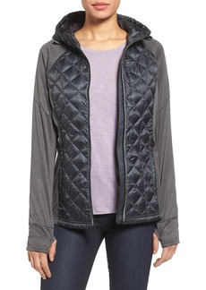 MICHAEL Michael Kors Mixed Media Jacket (Regular & Petite)