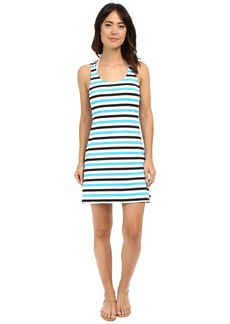 MICHAEL Michael Kors Nauset Stripe Tank Top Cover-Up