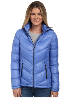 MICHAEL Michael Kors Packable w/ Side Quilt & Hood