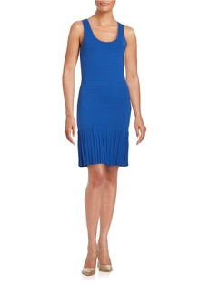 MICHAEL MICHAEL KORS Pleated Sleeveless Dress