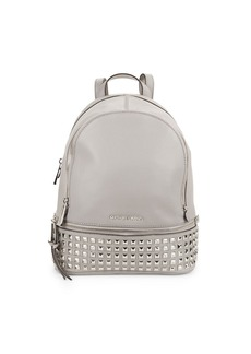 MICHAEL MICHAEL KORS Rhea Leather Studded Backpack