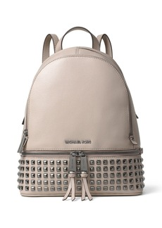 MICHAEL MICHAEL KORS Rhea Pyramid Stud Medium Venus Leather Backpack
