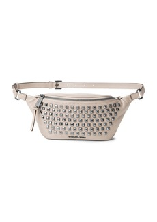 MICHAEL MICHAEL KORS Rhea Stud Leather Belt Bag