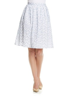 MICHAEL Michael Kors® Ribbon Embroidered Skirt