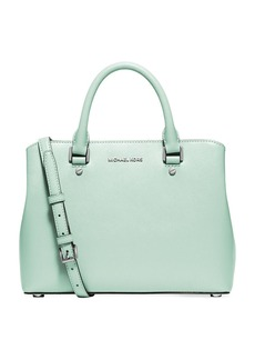 MICHAEL MICHAEL KORS Savannah Leather Satchel