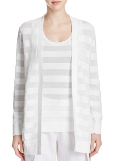 MICHAEL Michael Kors Sheer Stripe Cardigan