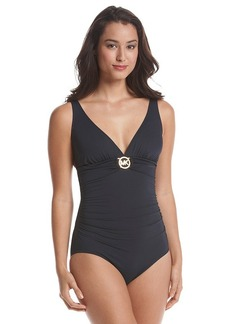 MICHAEL Michael Kors® Shirred Maillot One-Piece